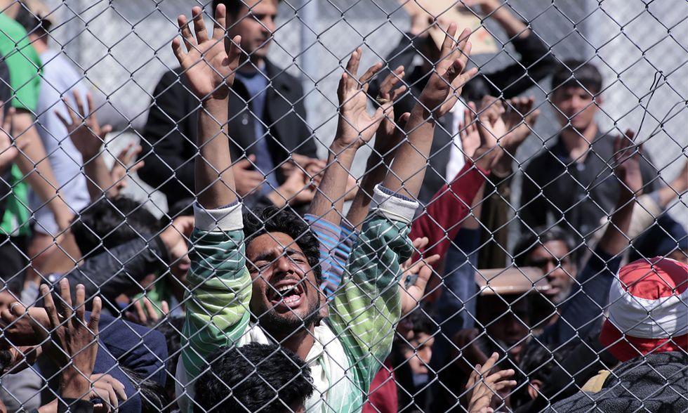 Deportazione dei rifugiati da Lesbo alla Turchia