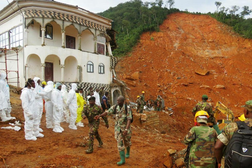 Sierra Leone, lo tsunami di fango e acqua - FOTO e VIDEO