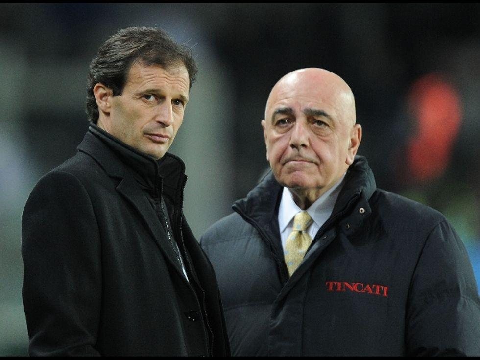 """Galliani: """"Regalo ad Allegri? Vedremo """""""