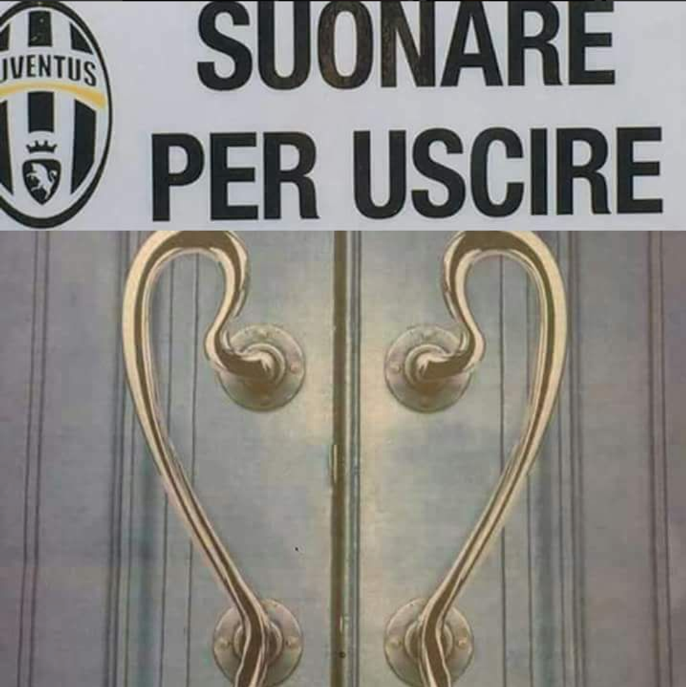 Juventus eliminata, i meme e gli sfottò su internet