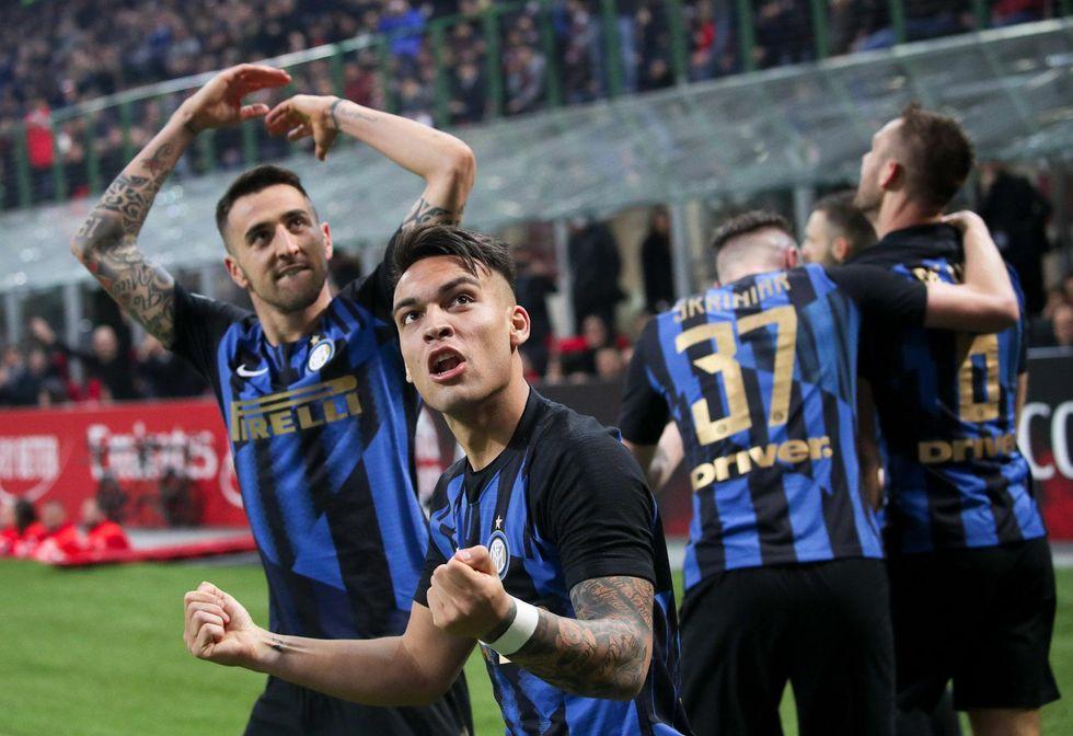 Milan-Inter derby 2-3