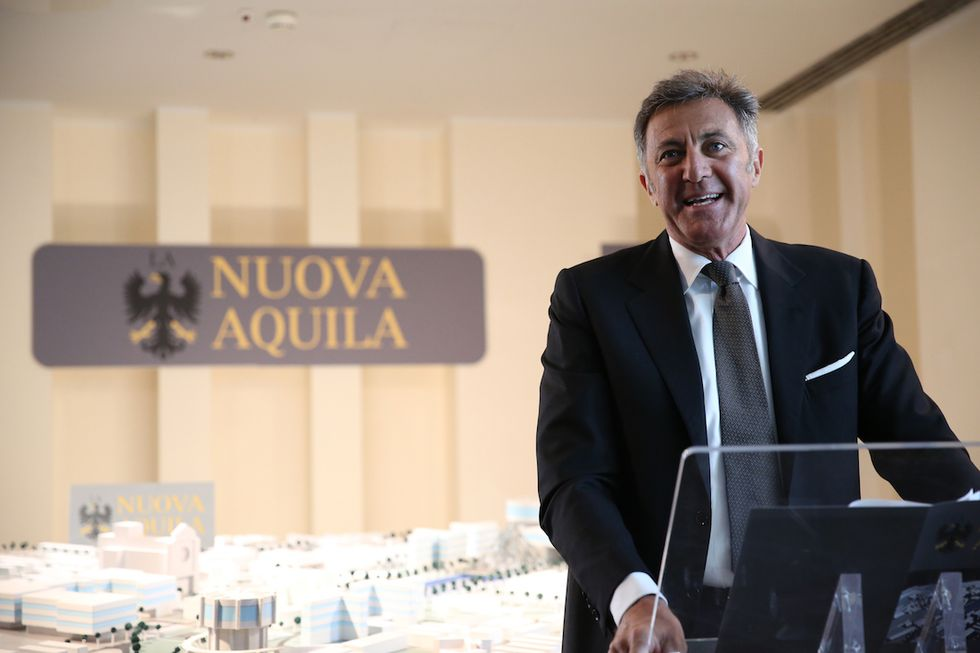 Luca Barbareschi L'Aquila-Grandi speranze