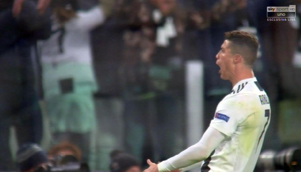 ronaldo squalifica gesto tifosi atletico madrid uefa