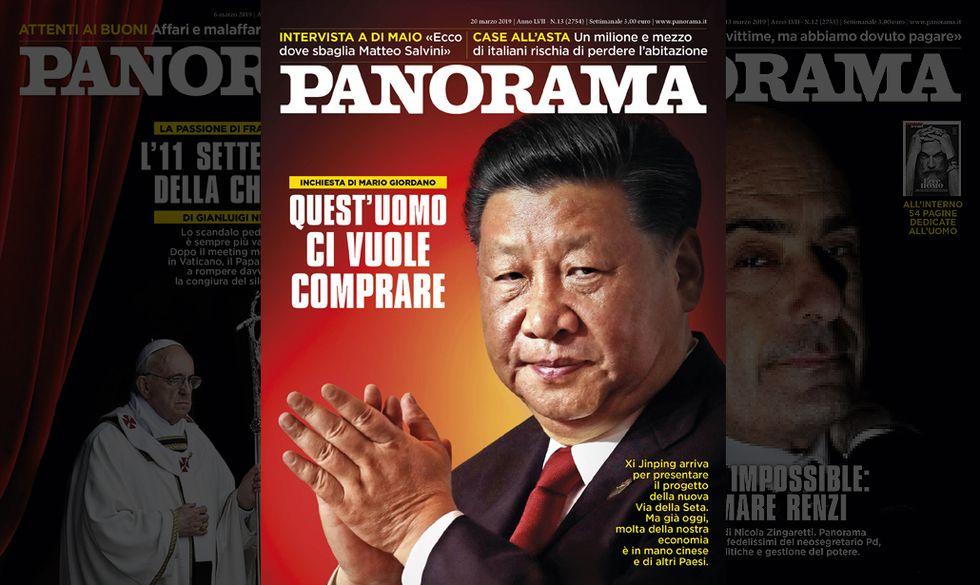 La Cina ci vuole comprare - Panorama in edicola