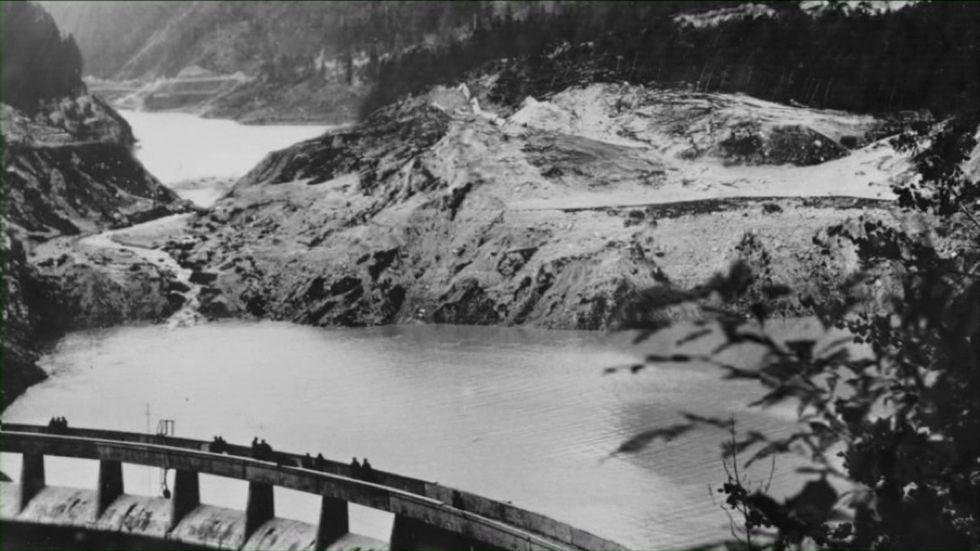 Diga di Pontesei: 60 anni fa l'incidente che anticipò il Vajont