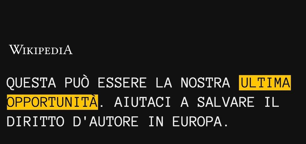 wikipedia italia