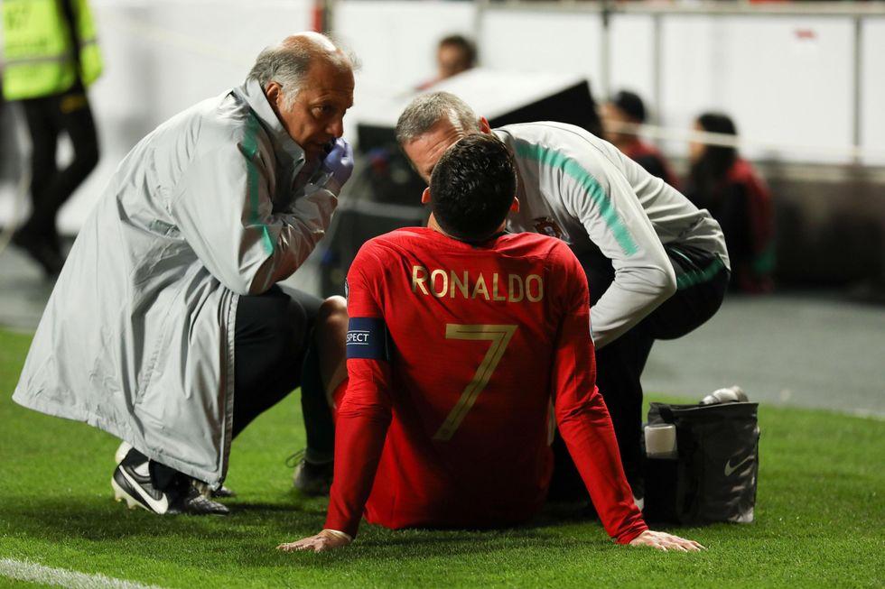 ronaldo infortuni carriera tempi recupero