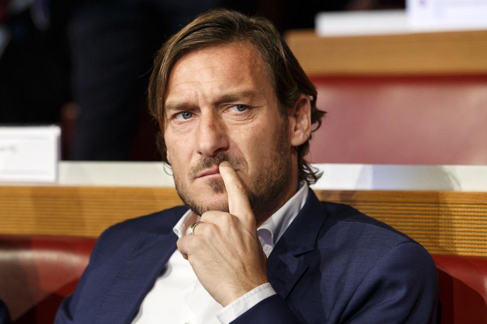 totti roma dirigente mercato allenatore