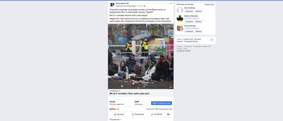 Post facebook rom
