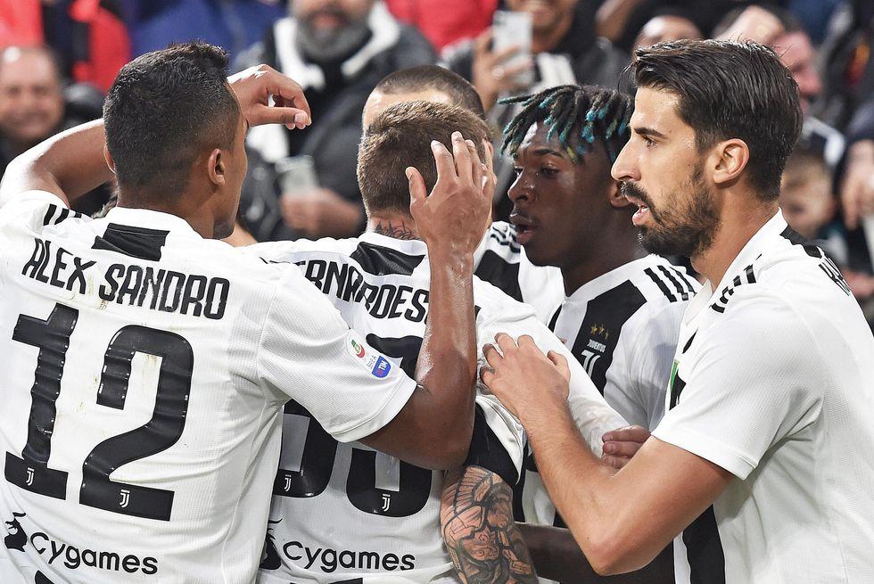 Juventus scudetto record consecutivi italia Europa