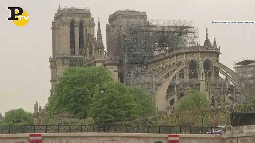Incendio Notre Dame: la cattedrale oggi