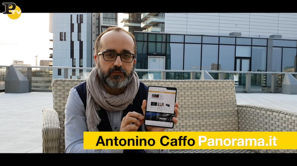 Video Samsung Fold prova telefonino smartphone pieghevole