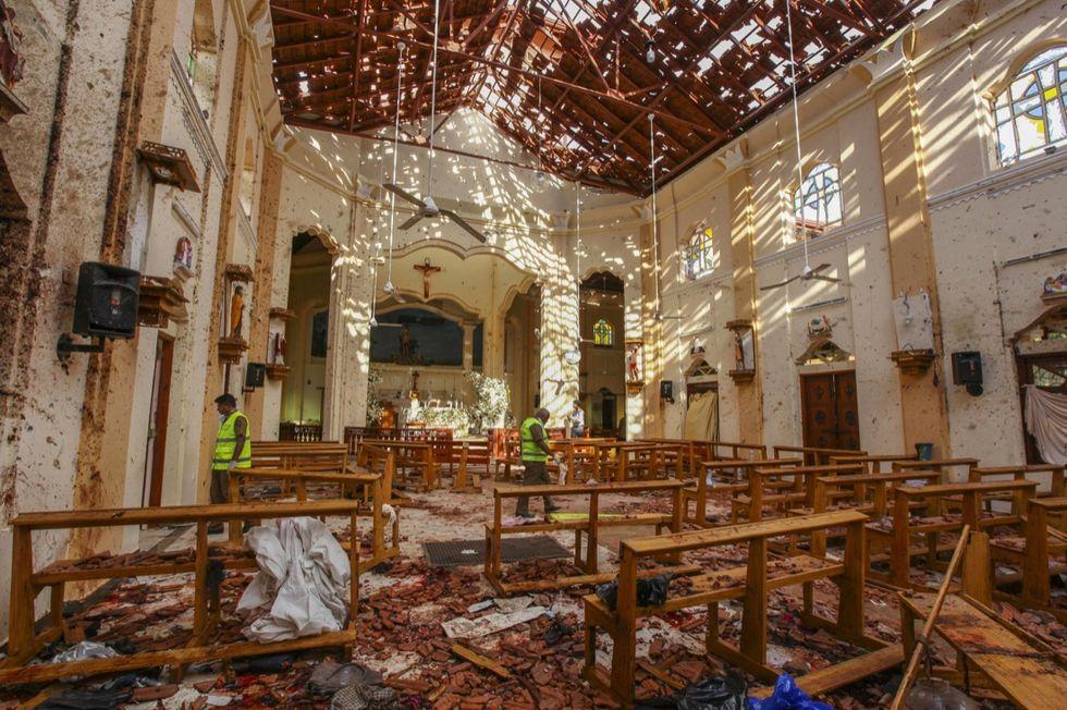 Sri lanka attentato Isis