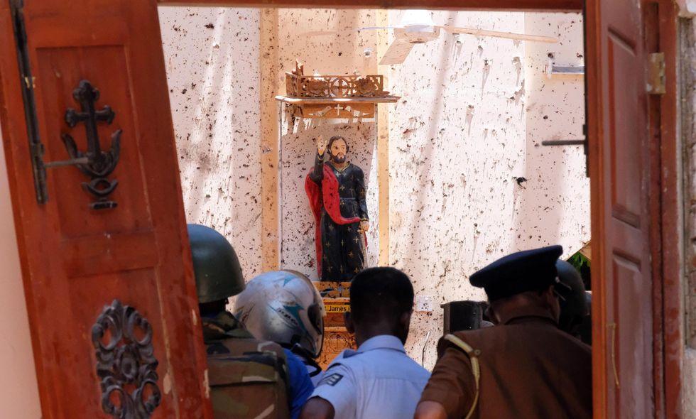 attentati bombe Sri Lanka Colombo chiesa
