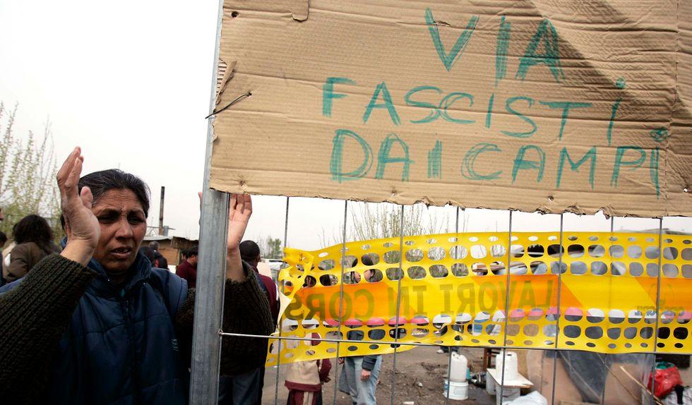 rom via Negrotto Milano
