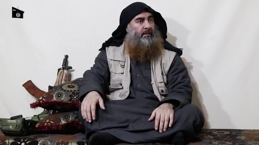 video Al Baghdadi Isis