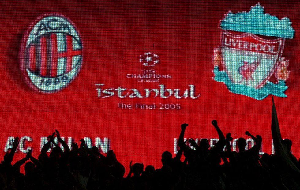 champions league grandi rimonte storia milan liverpool istanbul