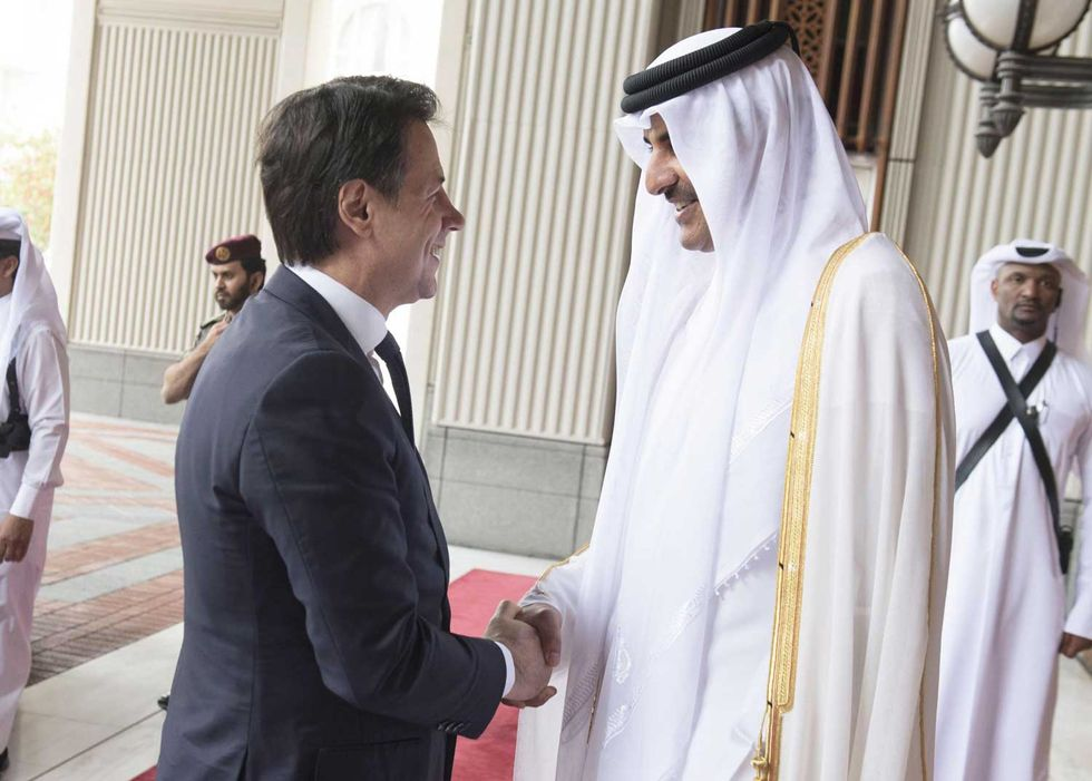 Conte-Qatar