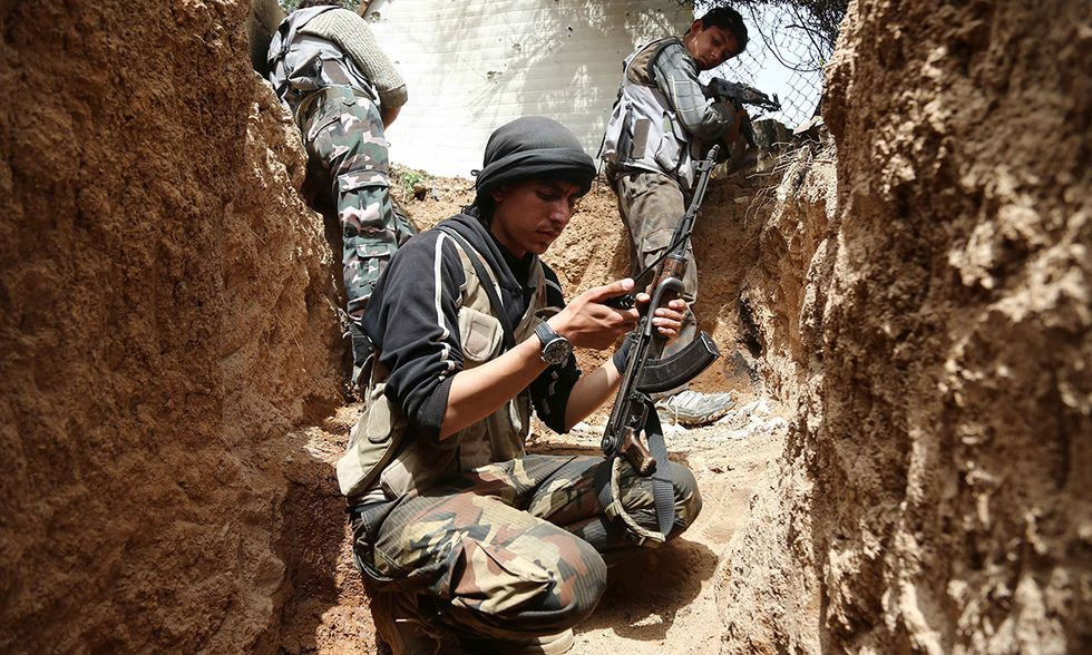 Combattimenti a Douma, Siria
