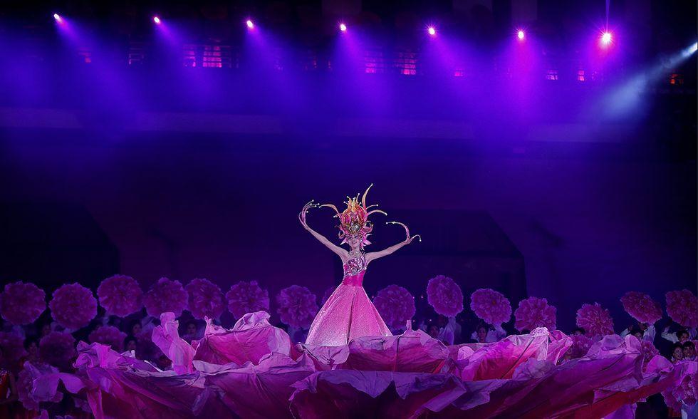 Festival cinese delle peonie di Luoyang