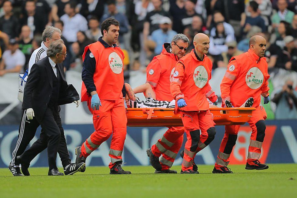 Marchisio, addio Europeo: infortunio al ginocchio sinistro