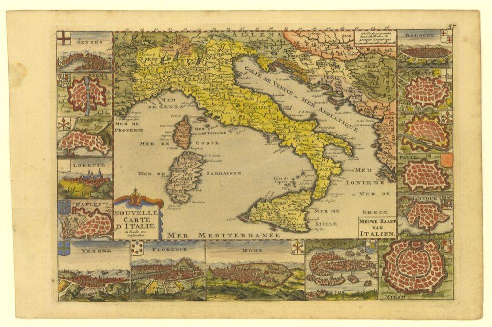 Italia, 1538