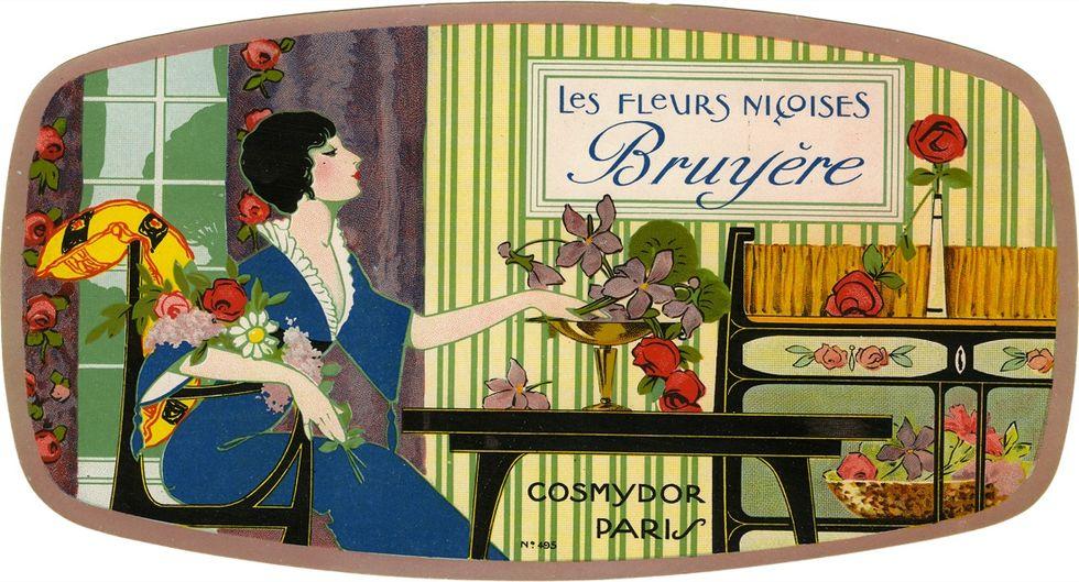 Les fleurs niçoises Bruyère,1930-40