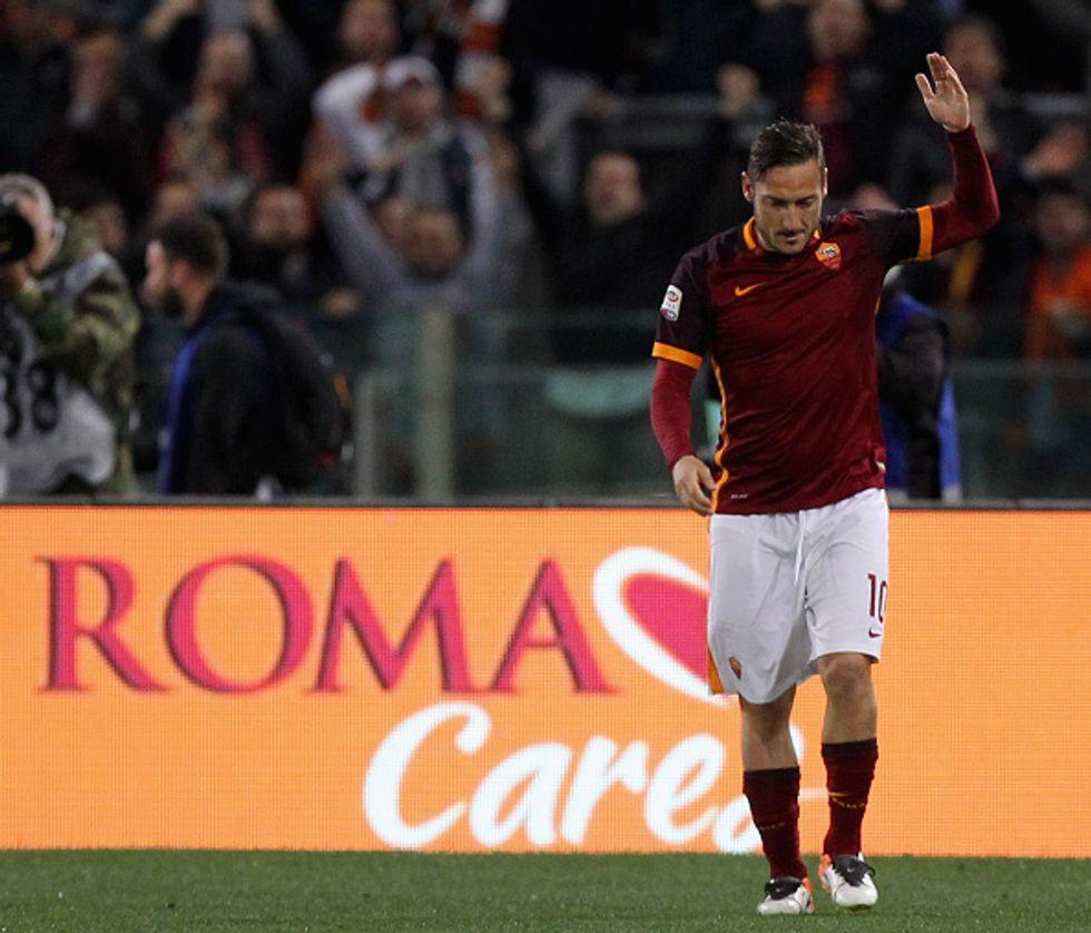 Totti, che favola: entra e regala alla Roma la vittoria Champions