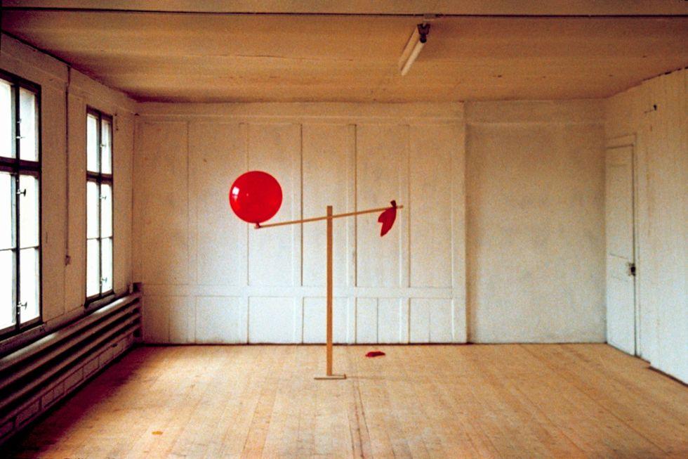 Roman Signer, Zwei-Ballone