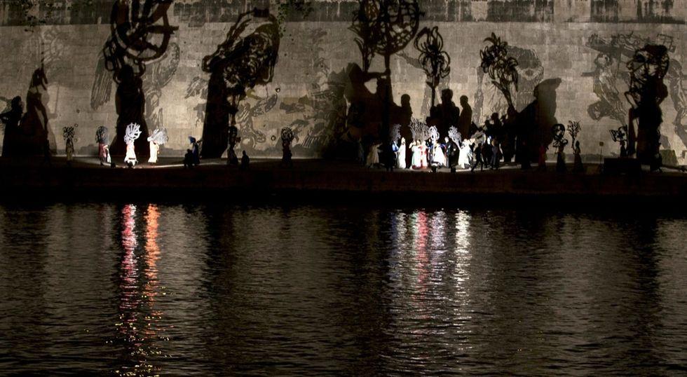 Triumphs and laments: un progetto per Roma