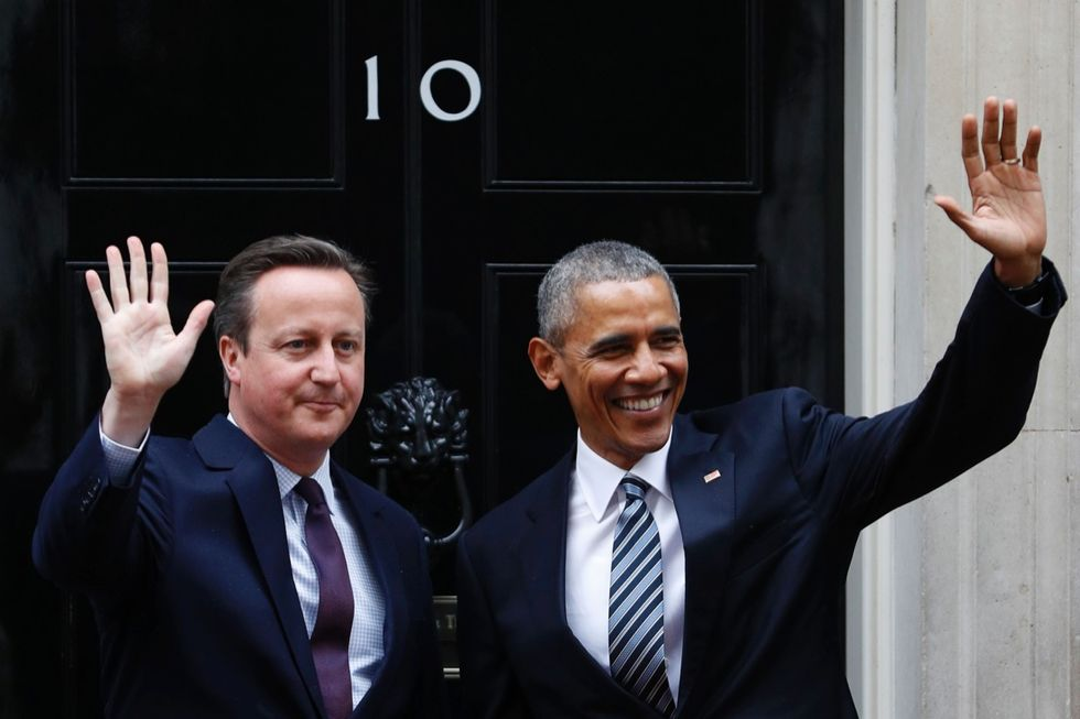 Obama cameron brexit