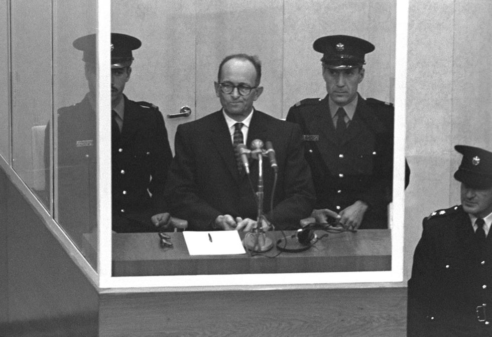 Eichmann, la visita segreta della moglie in carcere