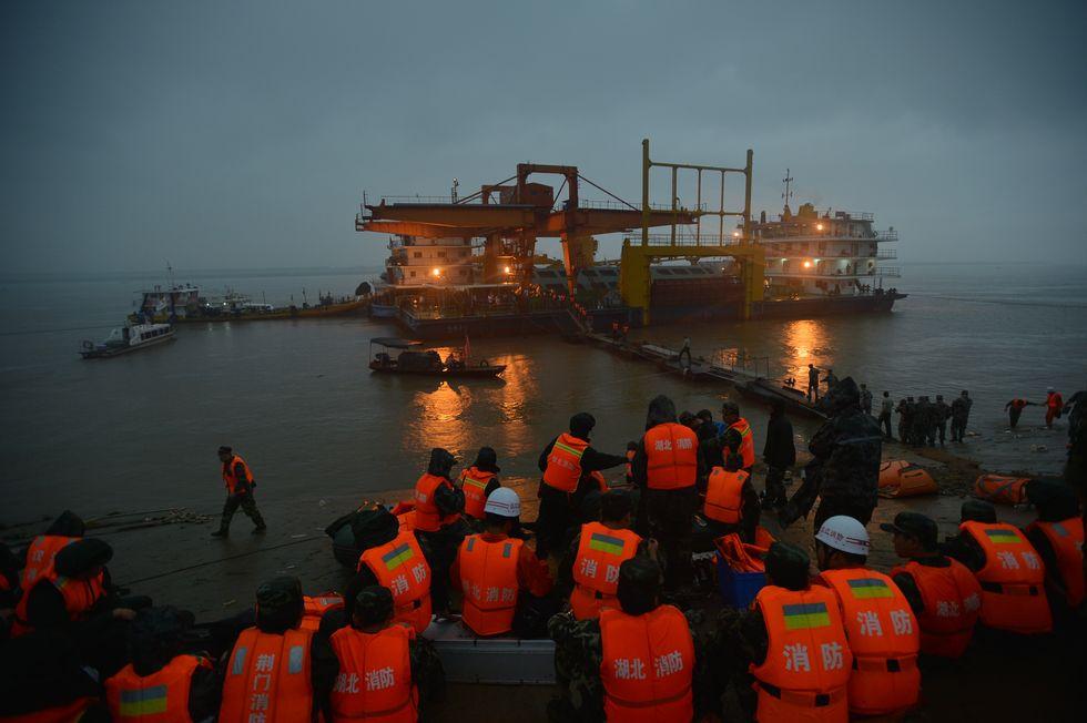 Cina: la crociera finita in tragedia nel fiume Yangse