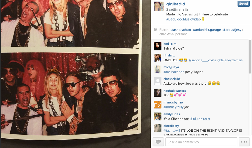 Joe Jonas e Gigi Hadid, flirt in corso?