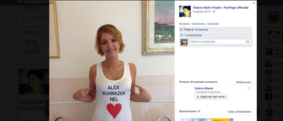 Alex Schwazer, la nuova fiamma è Valeria Molin Pradel