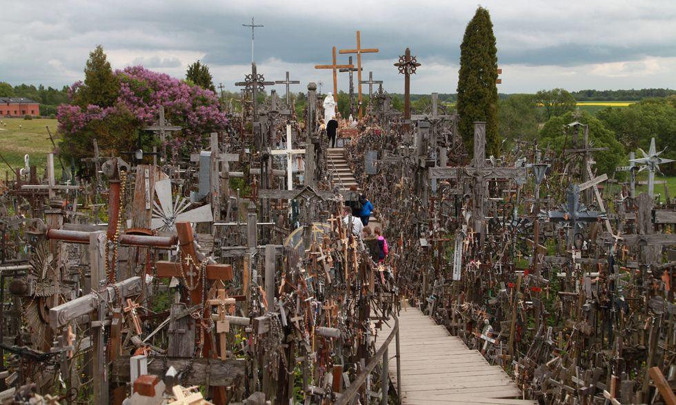 La Collina delle croci in Lituania