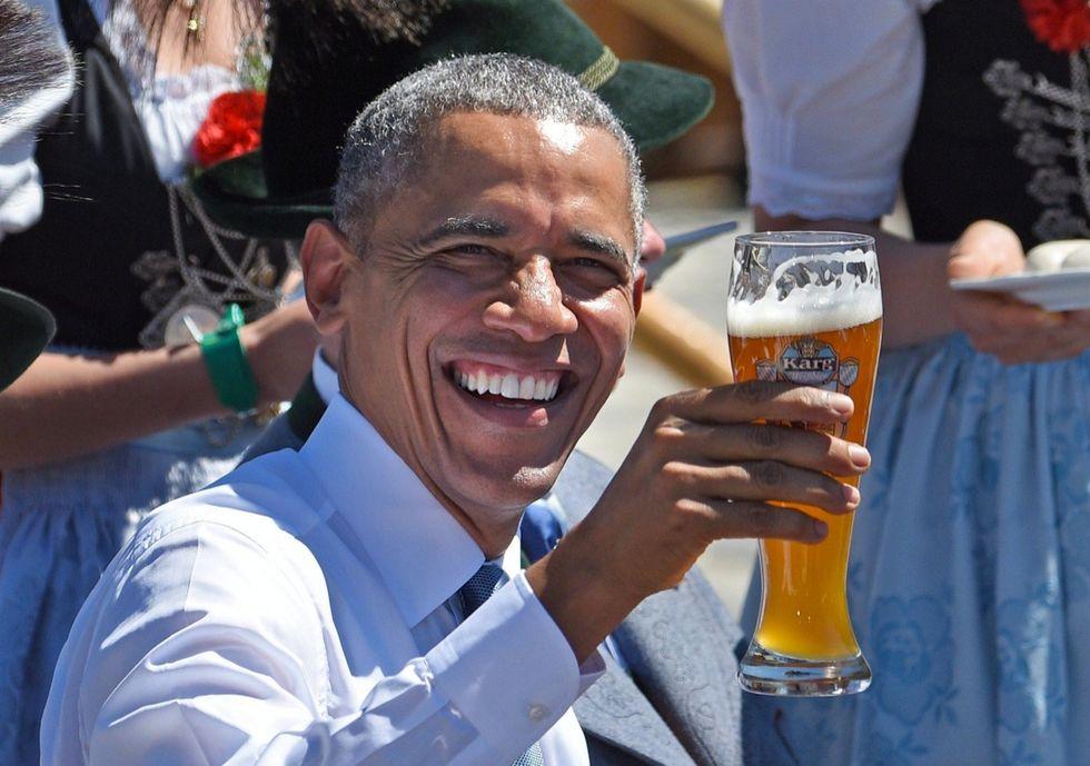 """Obama: """"Mai detto che voglio un dollaro più debole"""""""
