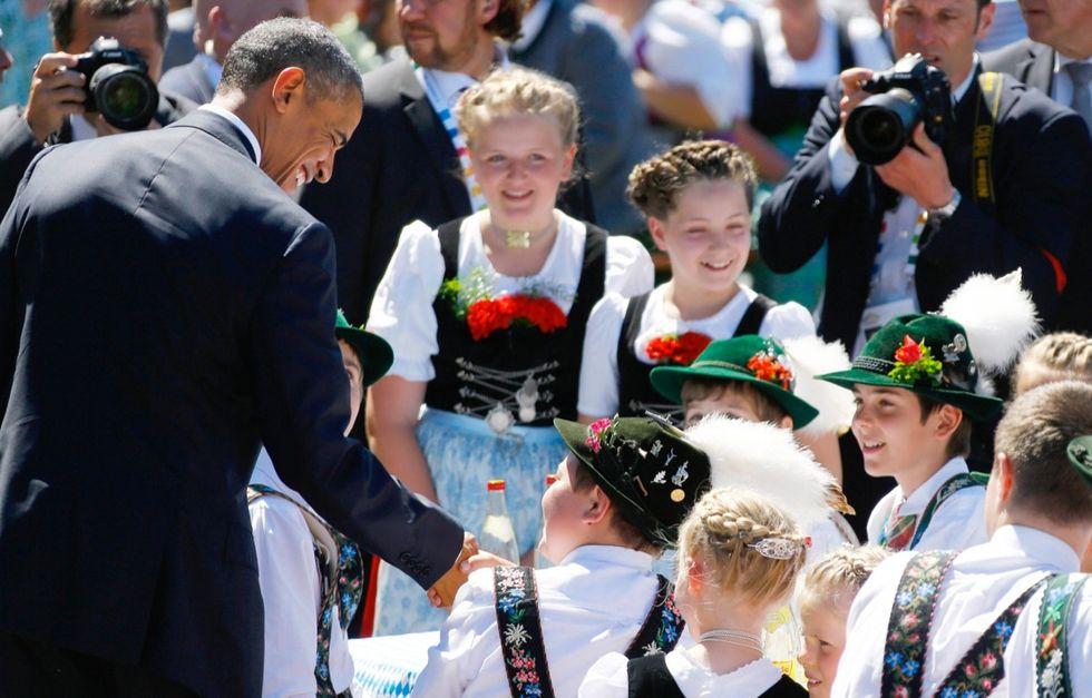 G7: il summit in Germania vicino alla gente