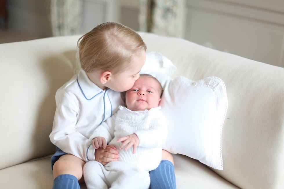 Principessa Charlotte, le prime foto ufficiali
