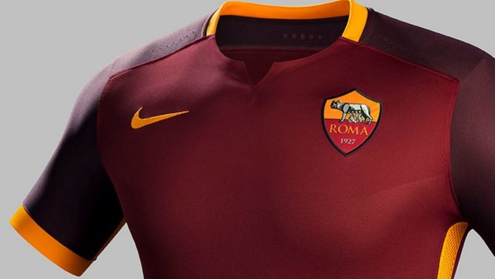 La maglia della Roma? Come le armature dei centurioni
