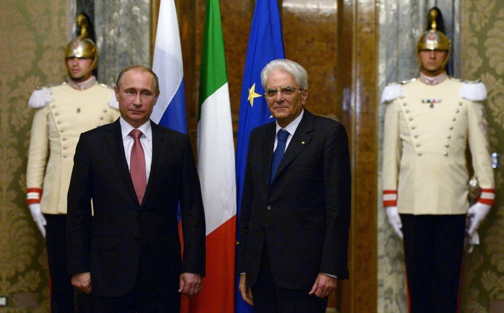 Vladimir Putin in Italia, tra incontri ufficiali  e appelli alla pace