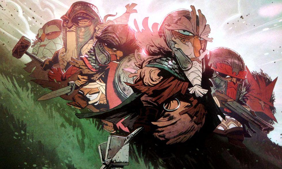 'Brigada': la saga fantasy di Enrique Fernandez