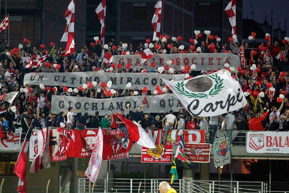 Serie A: il Carpi andrà a giocare a Modena