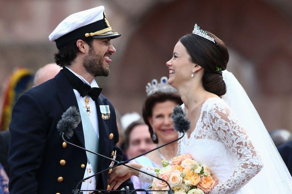 Matrimonio reale per il principe di Svezia e la modella Sofia
