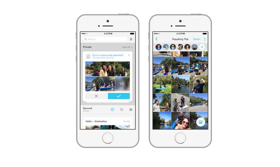 Facebook Moments, arriva l'app per condividere foto (in privato)