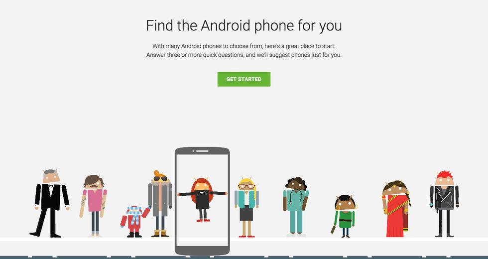 Comprare uno smartphone: il test di Google per decidere quale