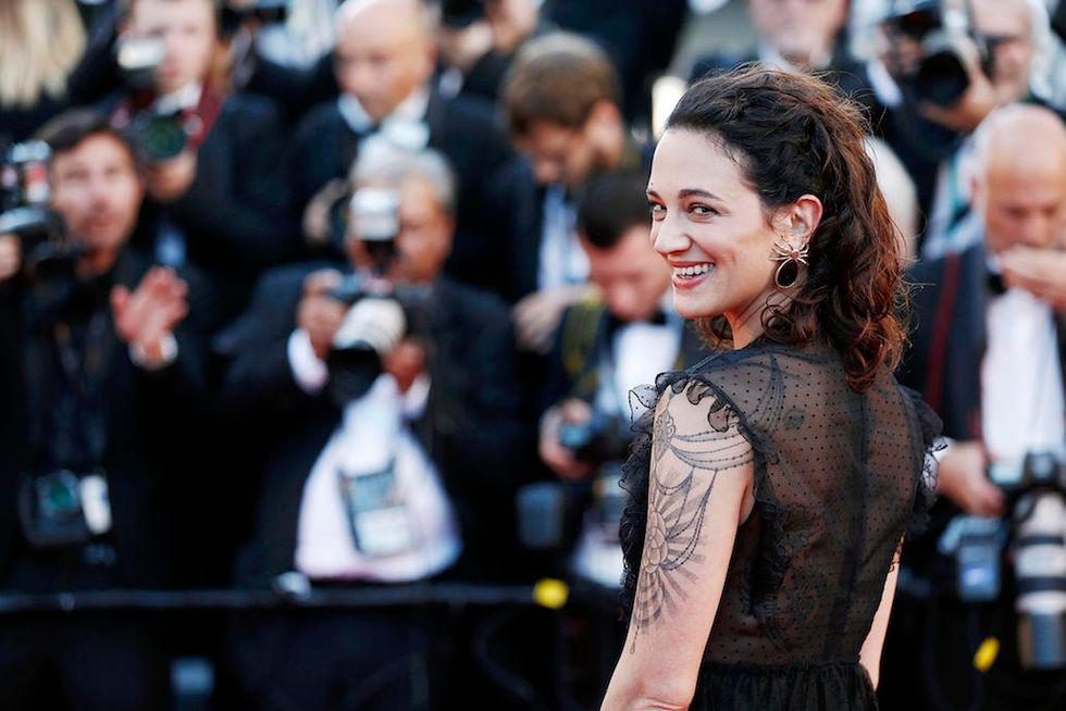 Asia Argento Festival di Cannes 2017