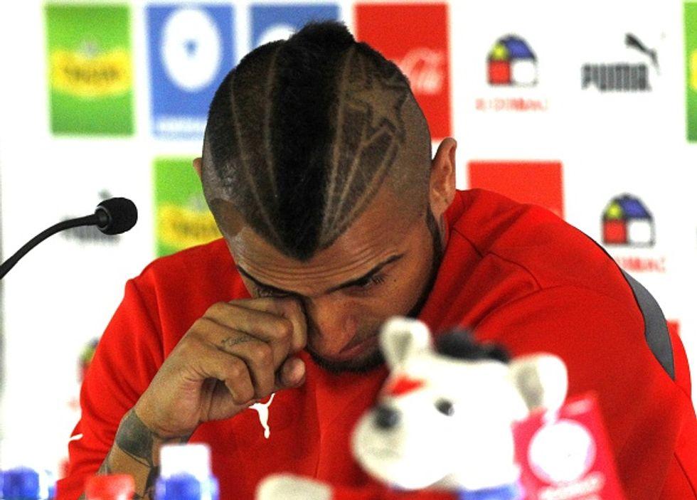 """Le lacrime di Vidal: """"Ho sbagliato, chiedo perdono"""""""