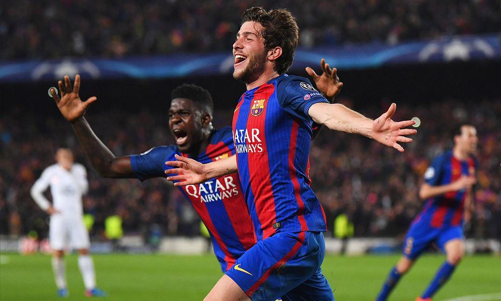 Champions: Barcelona - Paris Saint-Germain
