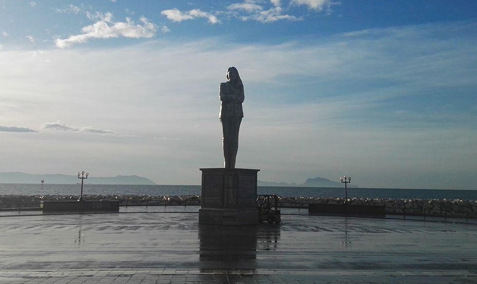 statua napoli Calicchio